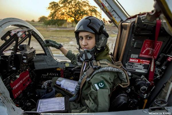 Flight Lieutenant Ayesha Farooq, Pakistan