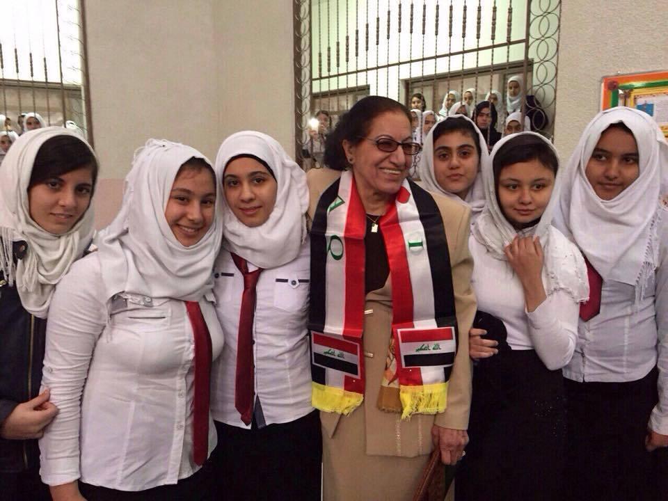 Madiha Al-Birmani, Iraq, voxytalksy