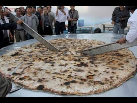 World's biggest chapati,