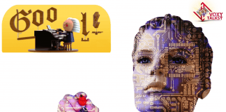 google doodle Bach voxytalksy