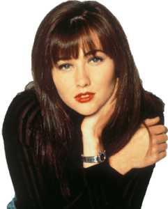 Brenda Walsh in Beverly Hills