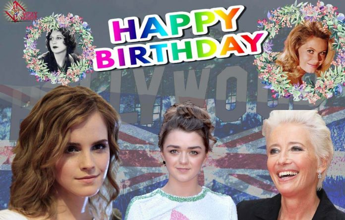 Hollywood Birthday Today :15 April