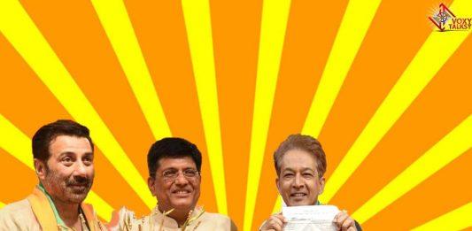 Sunny Deol Jawed Habib BJP