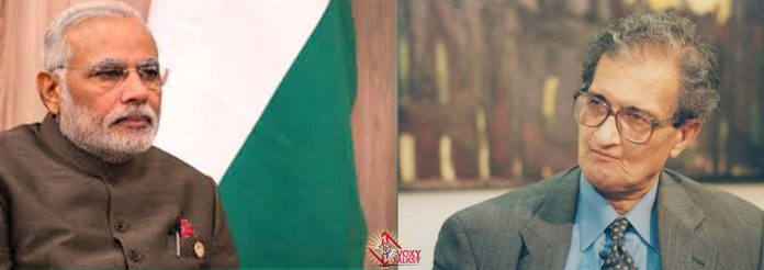 Amartya Sen Modi