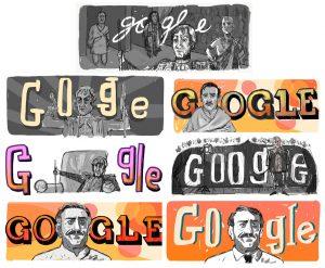 Amrish Puri Google Doodle Drafts