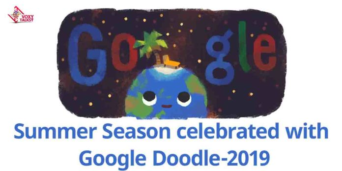 Summer Season celebrated with Google Doodle-voxytalksy