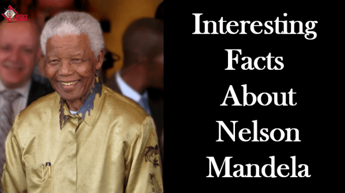 Nelson Mandela facts