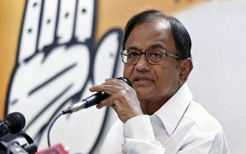 Chidambaram politics cases india
