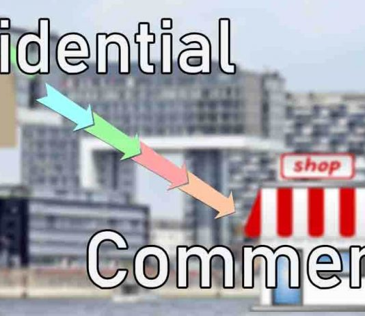 residential to commercial property conversion india