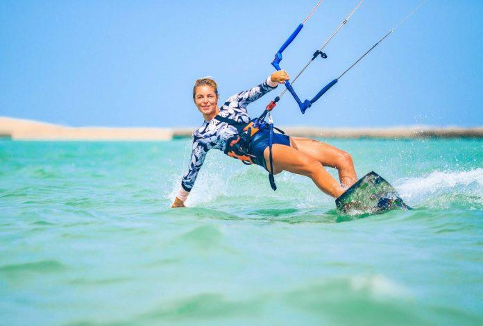 kite surfing adventure