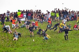 cheese rolling adventure