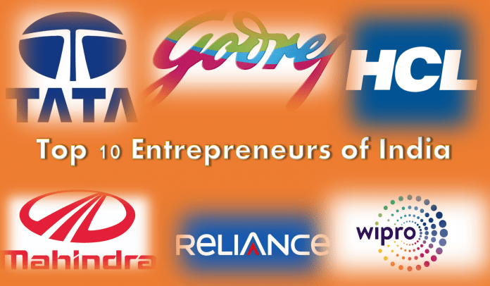 top 10 successful entrepreneurs of india, voxytalksy