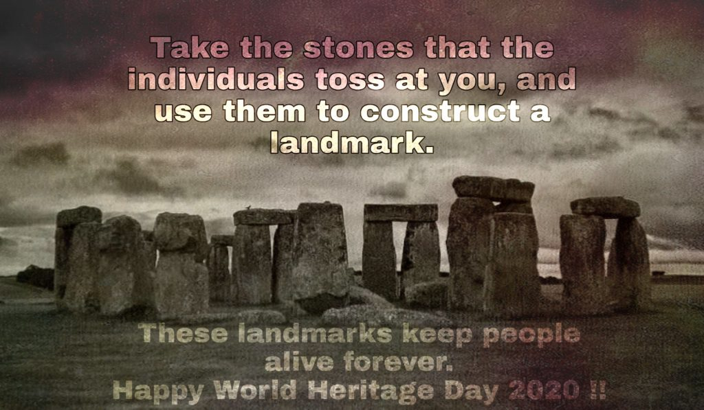 World Heritage Day 2020 Ecards - Aim, Significance, Theme | VoxyTalksy