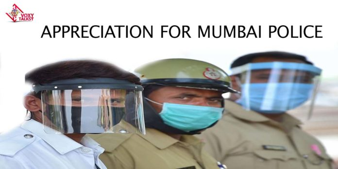 Appreciation for mumbai police