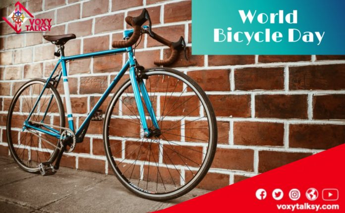 World Bicycle Day 2020 - Wishes, Logo, About, Significance | VoxyTalksy