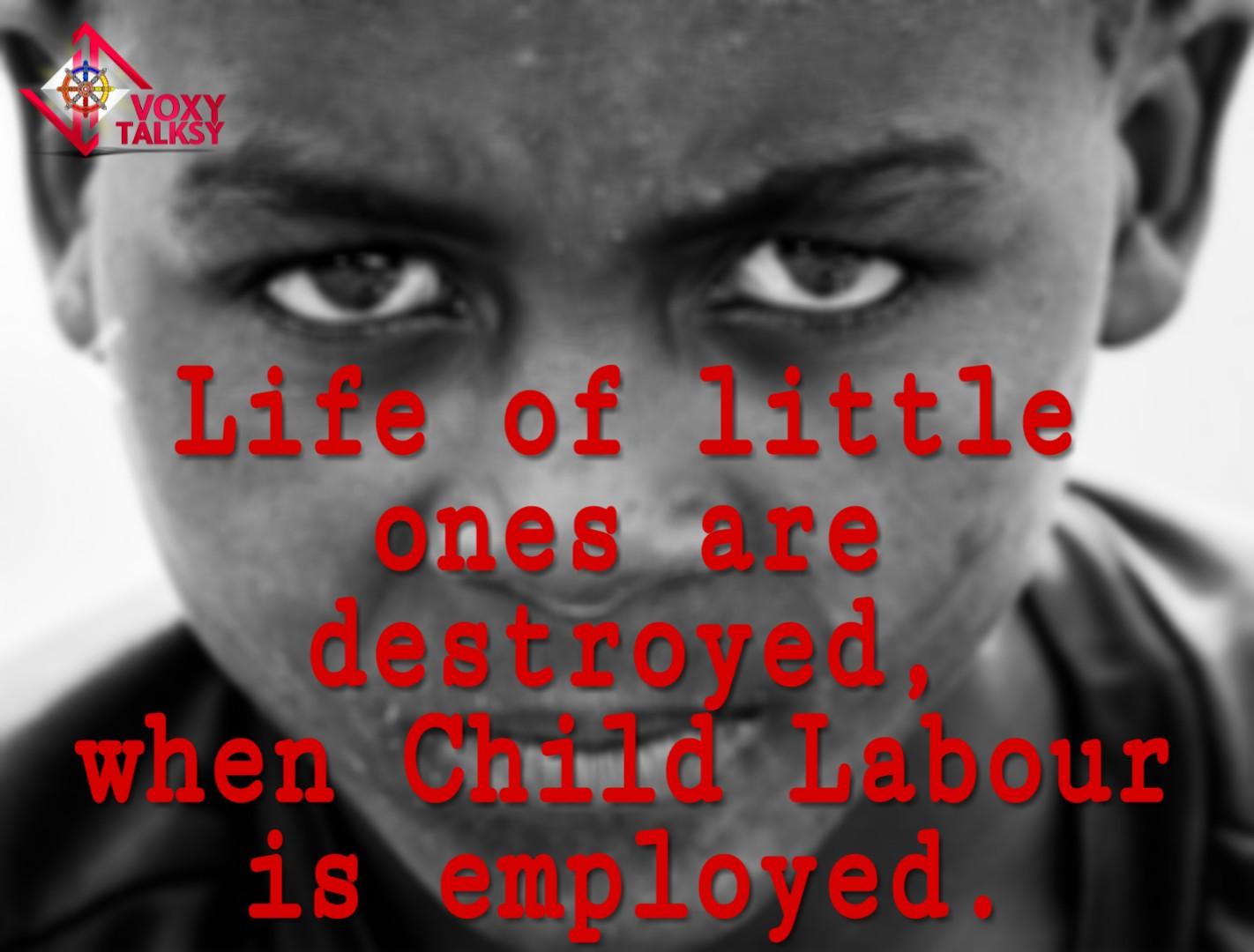World day against child labour, voxytalksy