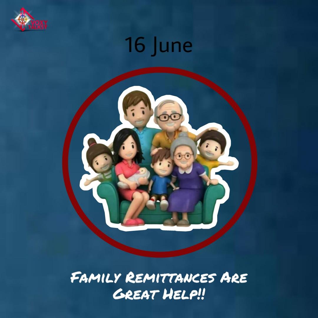 International Day of Family Remittances 2020   VoxyTalksy