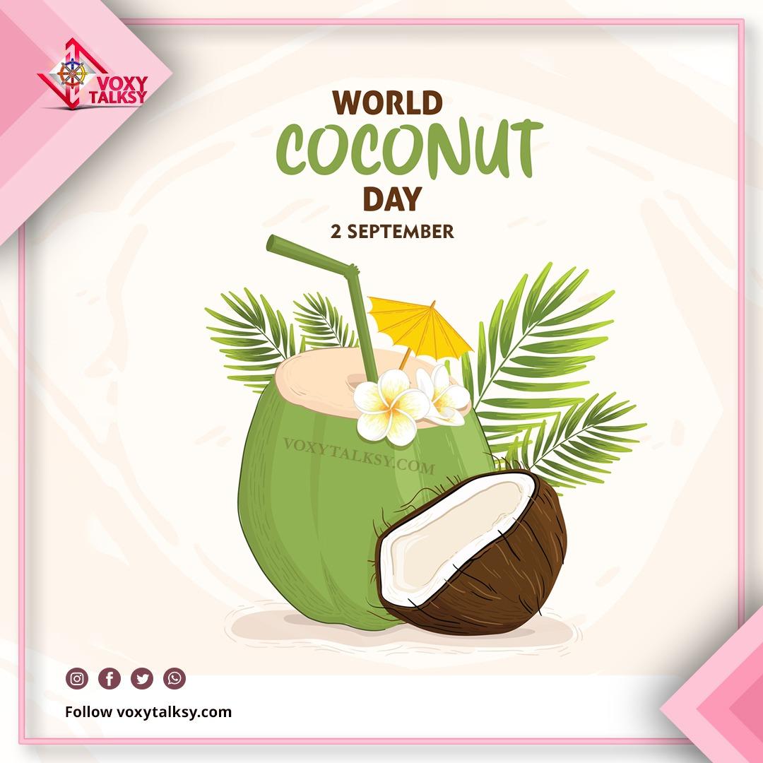 2020 World Coconut Day   VoxyTalksy