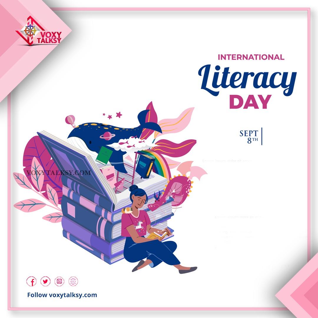 International Literacy Day 2020 | VoxyTalksy