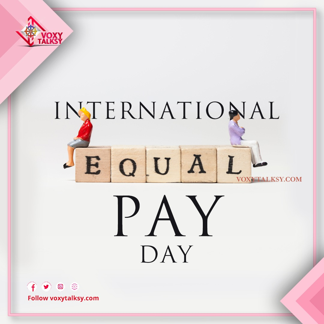 Equal Pay Day 2020 | Gender Pay Gap | VoxyTalksy